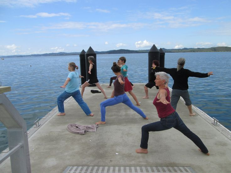 Yoga in a superb location - Bay of Islands New Zealand.