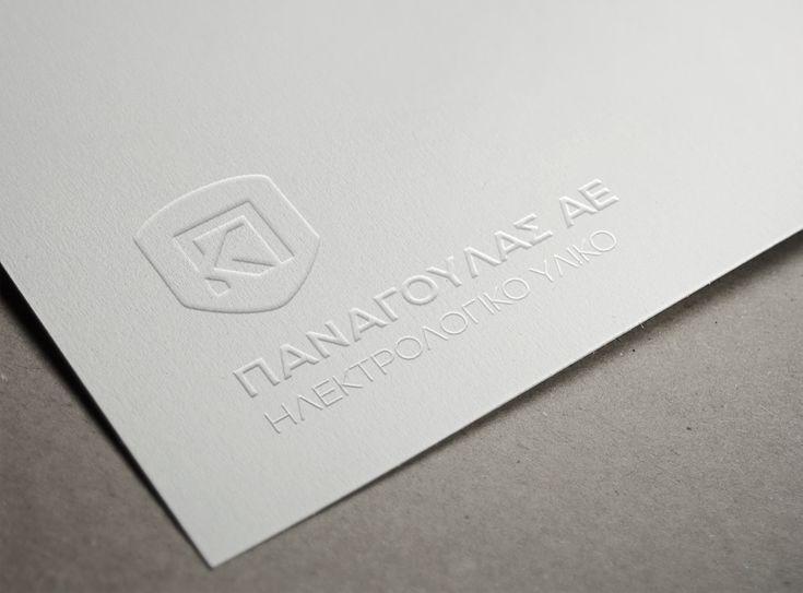 Fox Creative. Σχεδιασμός νέου λογοτύπου και εταιρικής ταυτότητας για την εταιρία Κ&Π Παναγούλας Α.Ε.. / Logo and corporate identity for the company K&P Panagoulas SA.