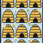 "This 11"" x 17"" bee birthday chart will look super cute hanging on your classroom wall, bulletin board or posted in your calendar area. $1.50 ........"