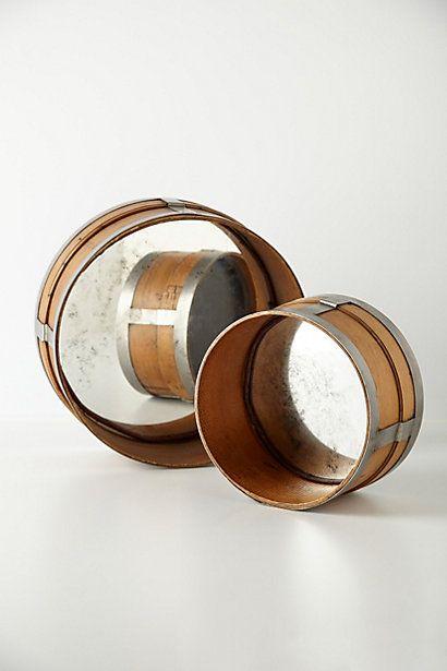 Villach Sieve Mirror  #anthropologie, love this, wonder about using an old drum and DIY