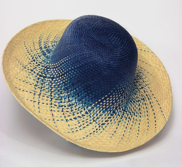"Fade To Blue ""Pava"" Womens Sun Hat - Bacano Bags and Hats"
