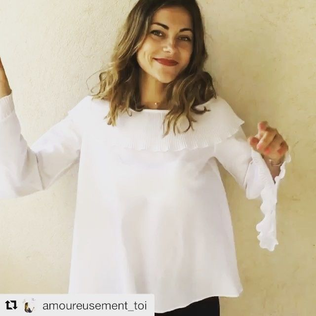 Bon week-end avec @amoureusement_toi avec la blouse 8 #outfitoftheday #moodoftheday #weekend #fashion #marievalfort #outfit #mood #france #blouse #ootd #madeinfrance #fashionista #instafashion 🇫🇷🇫🇷🇫🇷🇫🇷🇫🇷🇫🇷🇫🇷