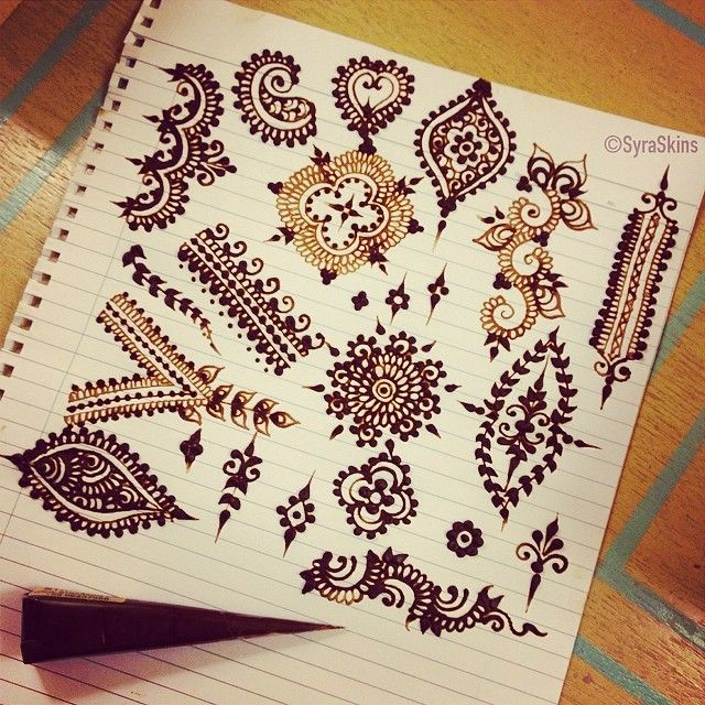 Mehndi Zentangle : Images about henna lessons on pinterest