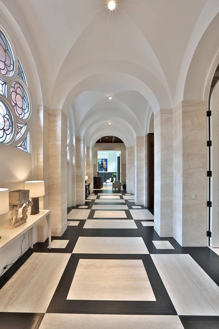 Resurrection Joe Brennan Creates An Inspired Home In A Former Church Travertine FloorsTile