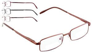 BROOKLYN DJD5445 - Full rim metal #frame front with detail on metal temples and spring hinges