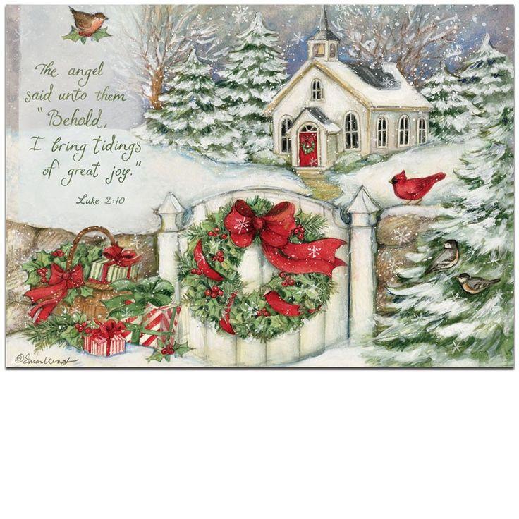 213 best Christmas art images on Pinterest | Vintage christmas ...