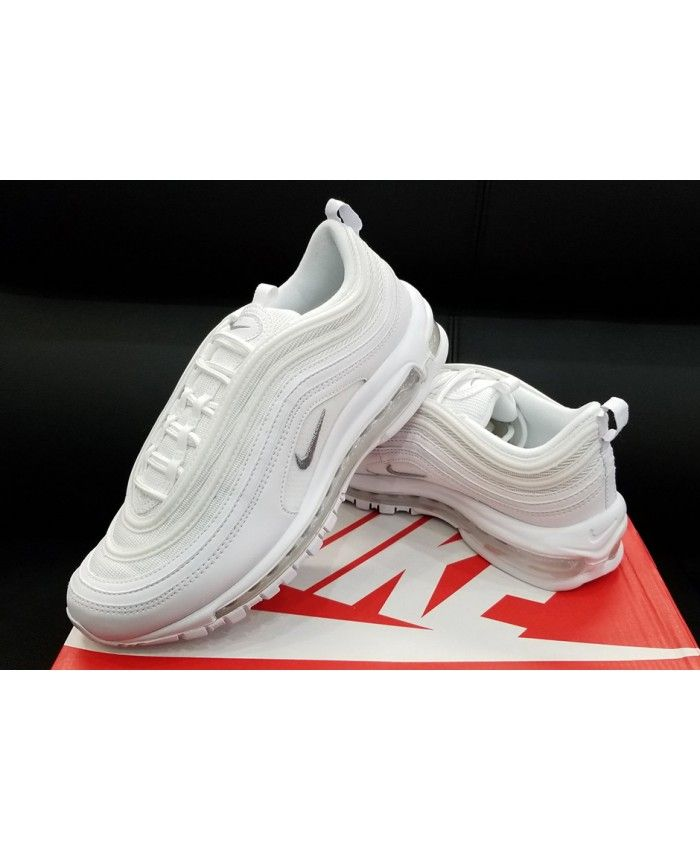 pretty nice 4a565 5ddd6 Nike Air Max 97 triple White Sale Uk
