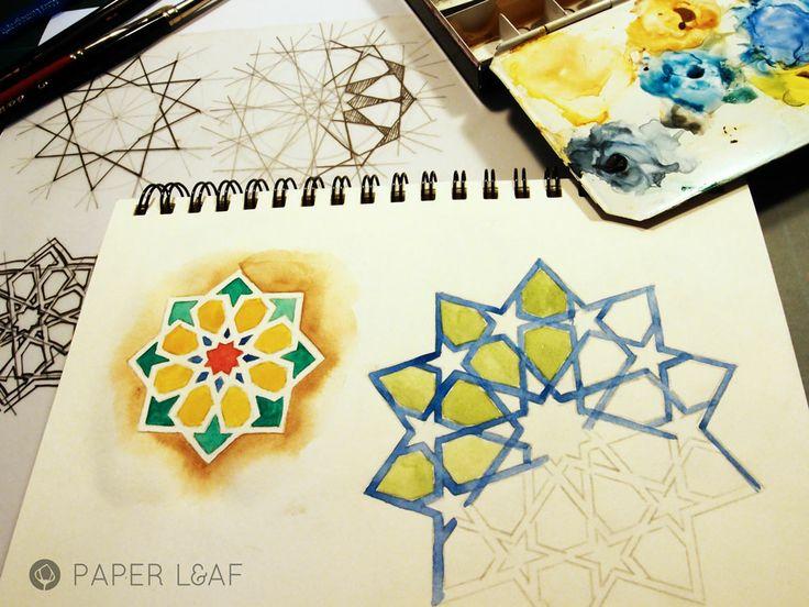 Girih | watercolor