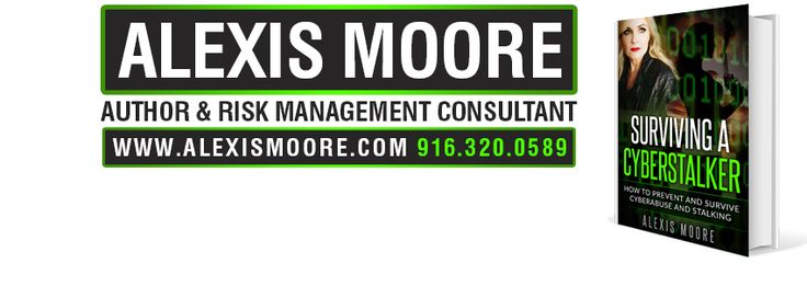 If you are experiencing any form of cyberabuse or stalking contact Alexis Moore today, www.survivingacyberstalker.com