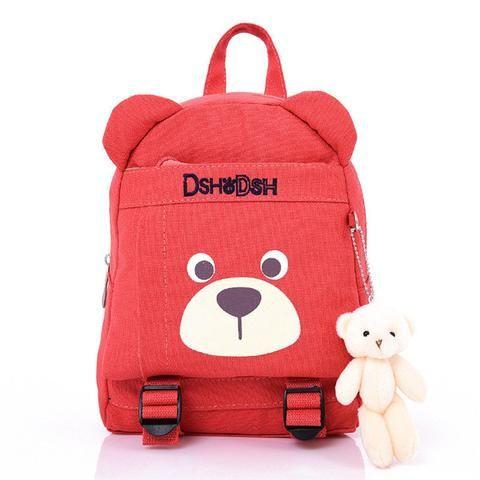 Toddlers Baby Backpack School Bag Cartoon Bear Rucksack Kids Boys Girls Bookbags