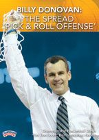 "Billy Donovan: The Spread ""Pick and Roll Offense"" - Coach's Clipboard #Basketball DVD Store"