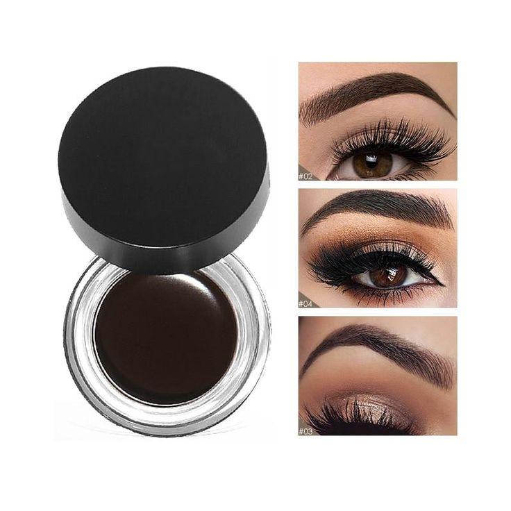 5 Colors Eyebrows Tint Makeup Waterproof Pomade Gel Long