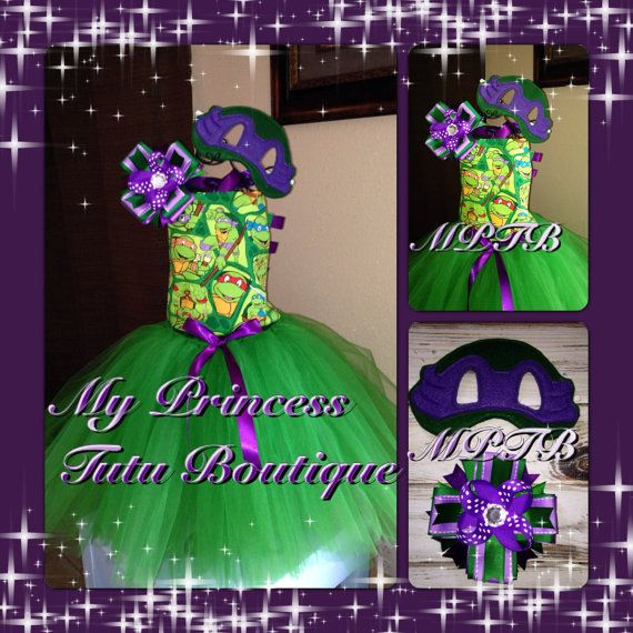 Ninja Turtle Tutus by MyPrincessTutuBoutique