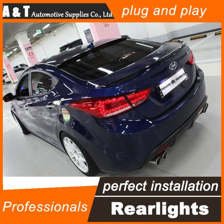 281.60$  Watch more here  - A&T Car Styling for Hyundai Elantra Taillights Benz Design New Elantra MD Tail Light Rear Lamp DRL+Brake+Park+Signal