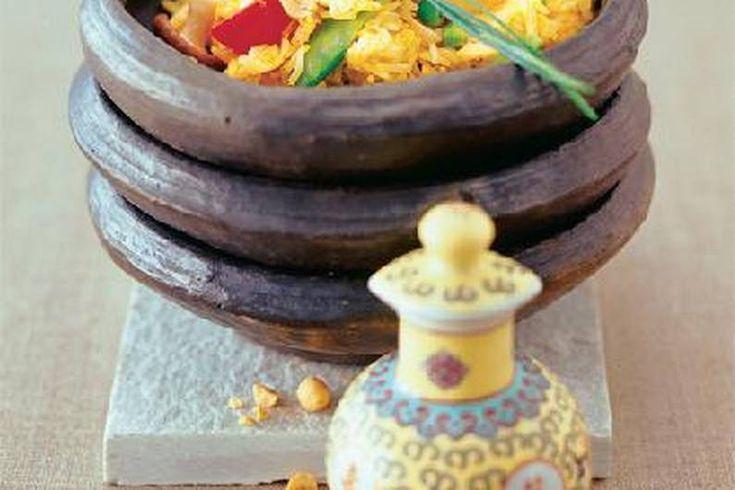 Das Rezept für Bratreis mit Asia-Gemüse mit allen nötigen Zutaten und der einfachsten Zubereitung - gesund kochen mit FIT FOR FUN