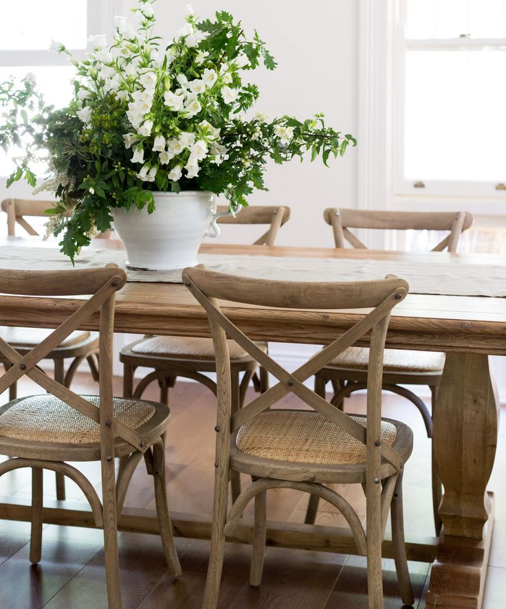 The Dining Room Is Back 4 Ways To Revive Your Fabulous: Lavender Hill Interiors French Farmhouse Table And Chairs