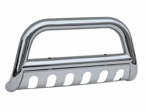 Toyota Tundra Bull Bar - Polished Stainless Steel - Fits the 1999, 2000, 2001 2002, 2003, 2004, 2005, and 2006 Tundra Enhance the appearance of your Toyota Tundra. Heavy Gauge Stainless Steel Construction. Easy Bolt-on Installation. Fits 1999-2006 Toyota Tundra. Limited Lifetime Warranty from Defects in Materials & Workmanship.  #OC_Parts #Automotive_Parts_and_Accessories