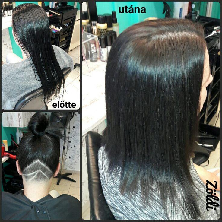 #zöldiszilvia #mywork #munkám #haircut #hajvágás #hajtetoválás #hairtattoo