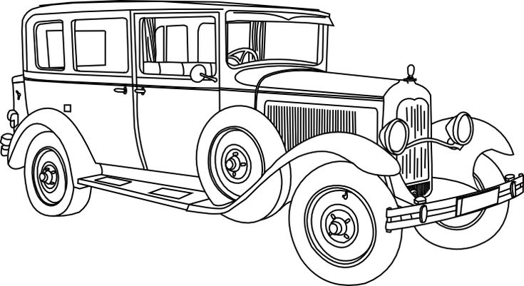 Beyond the Fringe: Cover Me a Vintage Auto! Free Digital Stamps! :))