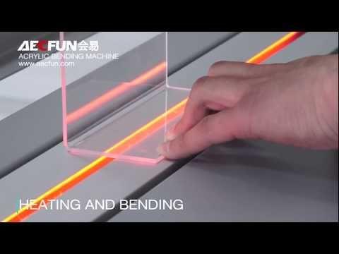Acrylic Bending Machine For Pp Plexiglass Plastic Sheet Organic Glass Youtube In 2020 Organic Glass Plastic Sheets Plexiglass