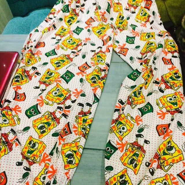 SPOTTED: these spongebob pyjamas for men in 'In Vogue' only at Rs 800 .. For all the men who keep asking me where to buy quirk pyjama and boxers from this place has lots to offer...