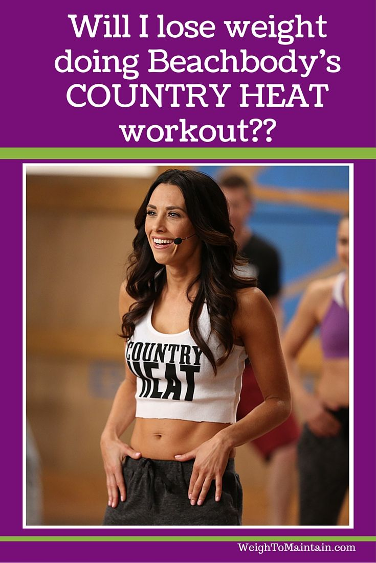 Will I lose weight doing Beachbody's new Country Heat workout?  Find out the answer to common questions... how does Country Heat burn calories? Is there a meal plan?  Do I have to follow it? What if I've failed at workout programs in the past? Check out the scoop for Autumn Calabrese's new workout program Country Heat.