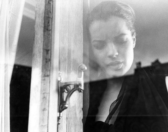 Will McBride, Romy Schneider, Paris, 1964
