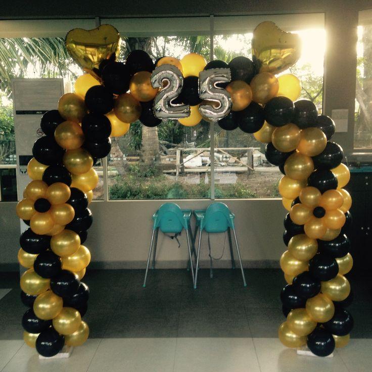 balon gapura di lembur kuring #lemburkuring #balongapura #balloonarch