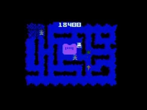 NIGHT STALKER INTELLIVISION GAMEPLAY AND REVIEW