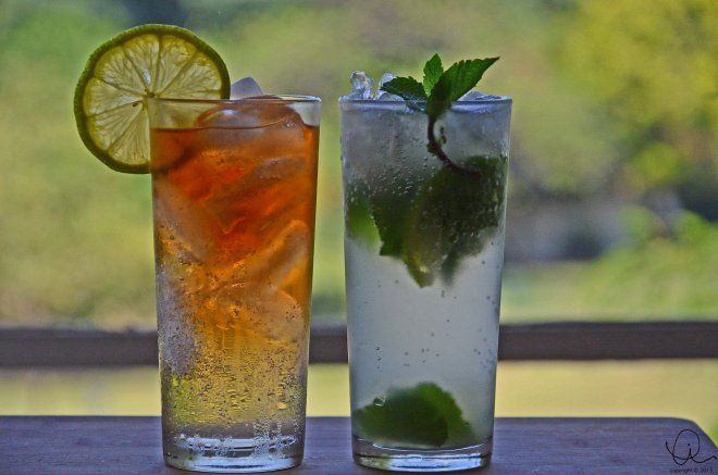 Malawian Shandy and Mojito- soothing summer cocktails