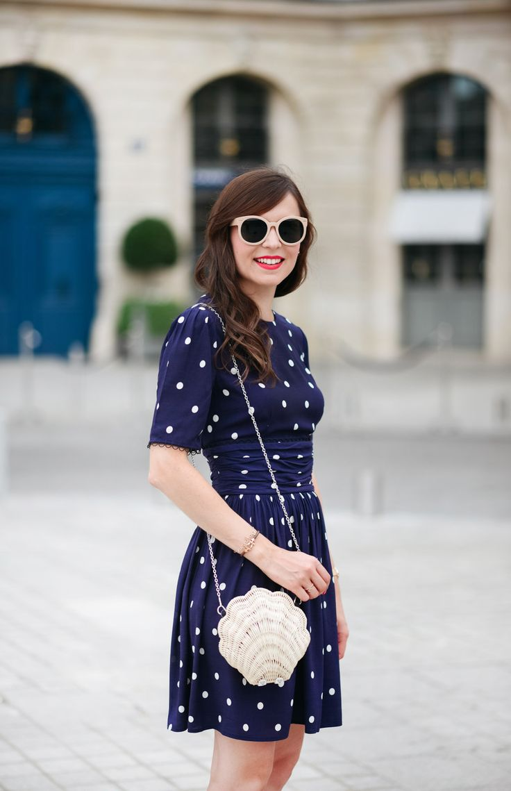 Robe dos nu à pois &Other Stories