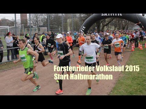 29. Forstenrieder Volkslauf 2015 - Start Halbmarathon
