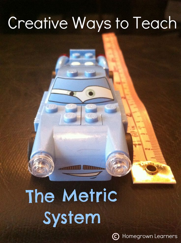 Homegrown Learners: 5 Creative Way to Teach The Metric System.....these ideas need to be beefed up for my middle schoolers, but it has definitely given me a few ideas!