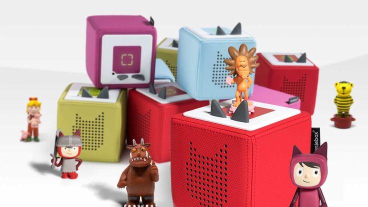 Hol dir jetzt Tonies und Toniebox, der neue Hör-Spiel-Spaß für das Kinderzimm…