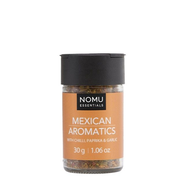 NOMU Spice Blends - Mexican Aromatics: A aromatic blend of Spices to add Mexican flavour to your cooking.
