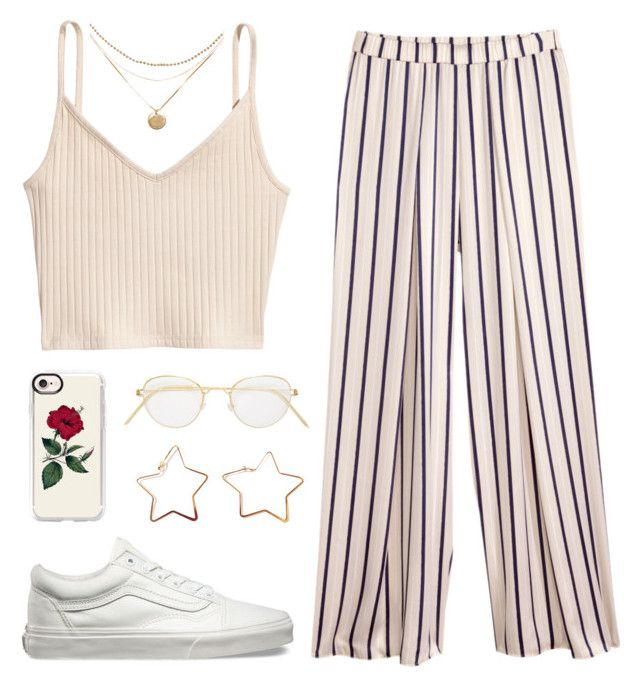 """zosia"" by soym ❤ liked on Polyvore featuring H&M, Vans, Casetify and Lindberg"