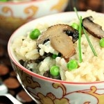 Sorta one dish. Mushroom risotto using your rice cooker!