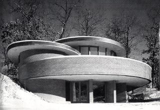 J. Mayes Residence, Glen Ellyn, Illinois by Don Erickson (1954)