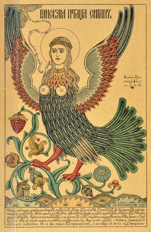 MCotD: Harpie or Harpy / Sirin / Siren - Mythical Creature of the Day