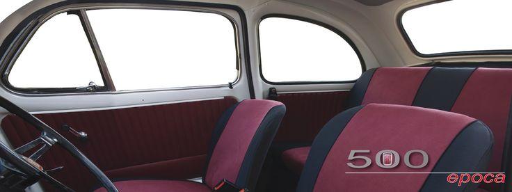 Coprisedili per auto: Masi lancia la fodera completa e su misura per Fiat 500 d'epoca