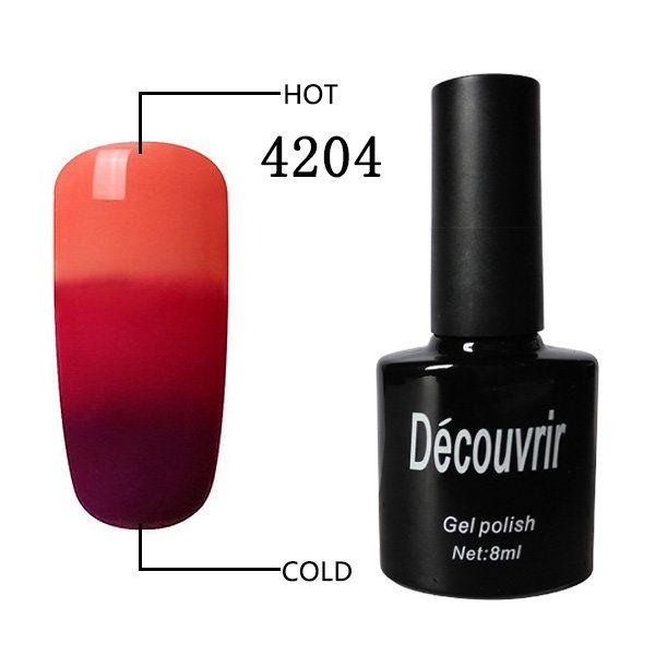 3 Colors Temperature Changing Nail Gel Polish Soak Off Nails Lacquer UV LED Lamp Long Lasting  #health #beauty #woman #nail #lips #face #skin #makeup