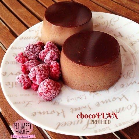ChocoFlan Proteico