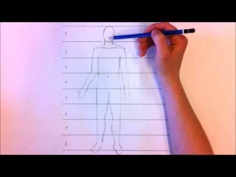 Hej och välkommen till ämnet bild på Lunaskolan Södra!  I den här videon går jag igenom kroppens proportioner, alltså hur stora kroppens olika delar är i jämförelse med varandra. Det är bra att kunna när man sen ska börja teckna människor.