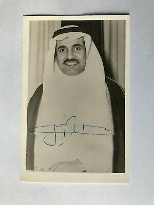 Ad Ebay Url Autograph Sheikh Aba Al Khail Ex Minister Of Finance Saudia Arabia Signed Photo Signed Photo Finance Autograph