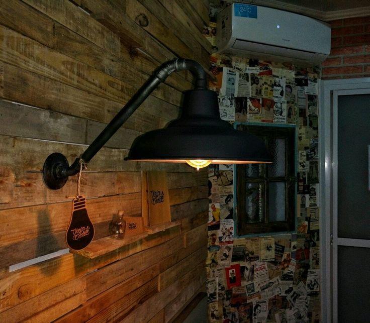 ¡Mirá nuestro nuevo producto Lámpara Galponera Aplique Pared! Si te gusta podés ayudarnos pinéandolo en alguno de tus tableros :)