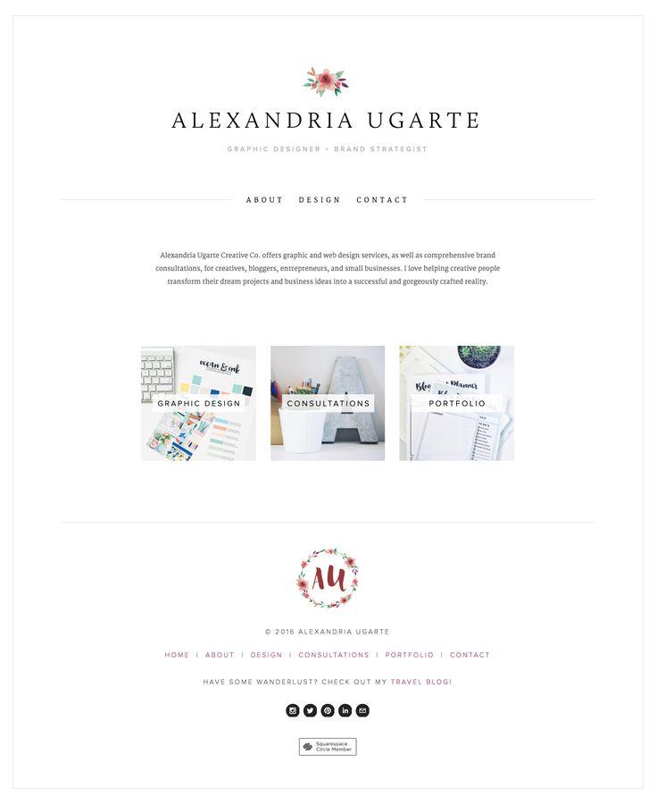 Branding and Web Design   Alexandria Ugarte Creative Co.