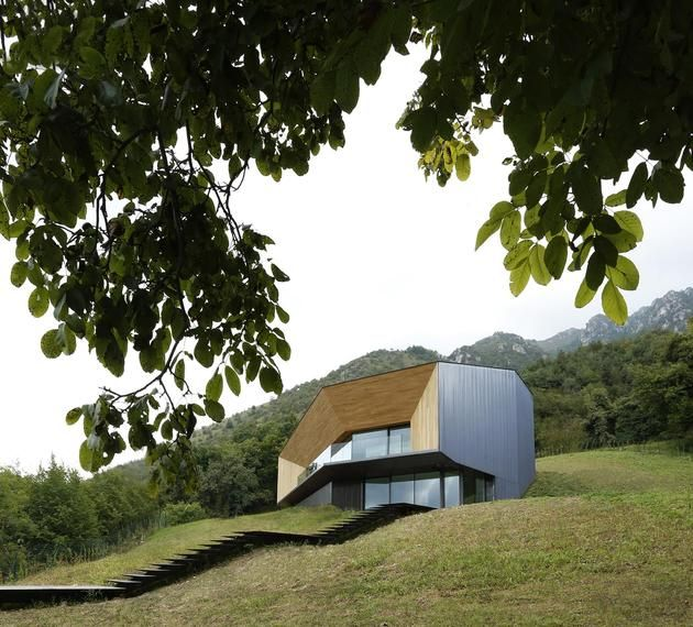 nice Alps Villa by Camilo Boticini Architects
