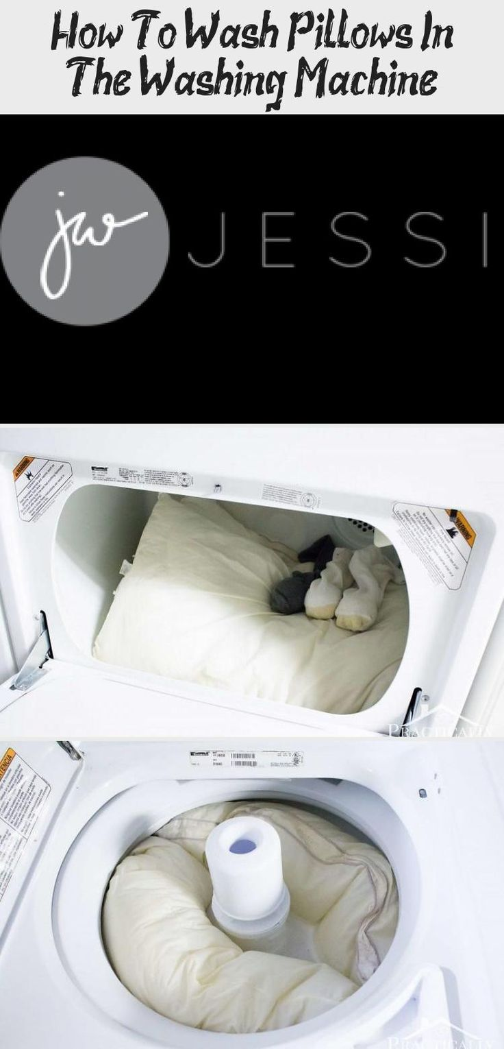 How To Wash Pillows In The Washing Machine in 2020 Old