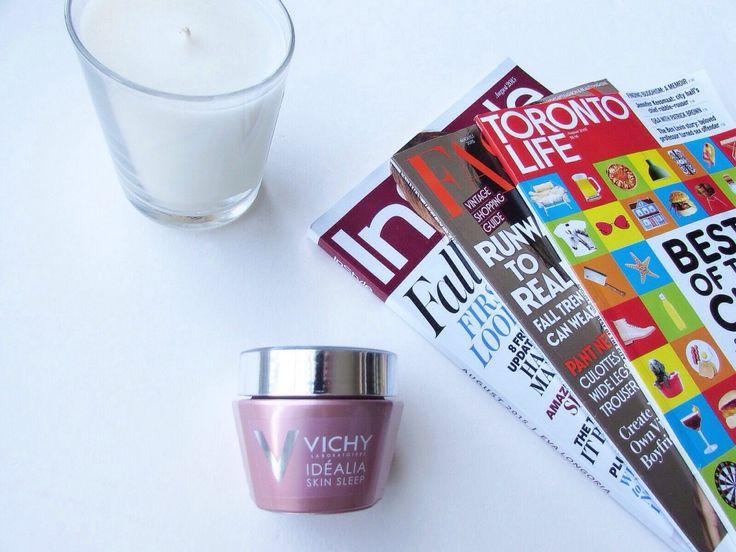 Vichy Idealia Skin Sleep Recovery Night Gel-Balm