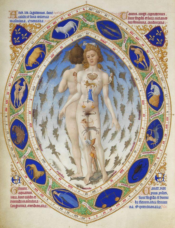 Las muy ricas horas del Duque de Berry. Miniatura medieval 1